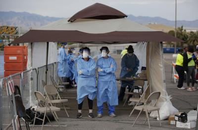 Virus Outbreak Nevada