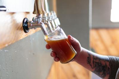 FILE - craft beer