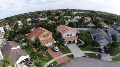 FILE - Florida neighborhood homes