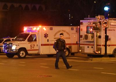 FILE - Chicago Hospital Shots Fired