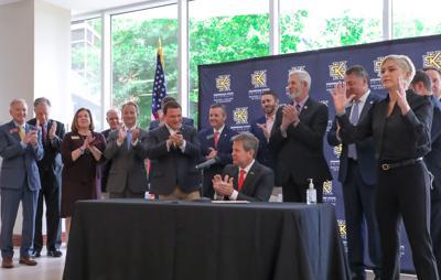 Gov. Brian Kemp's bill signing ceremony