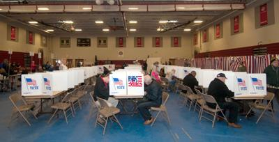 FILE - NH Election Day 11-8-2016