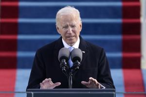Joe Biden calls for unity after being sworn in as 46th president of the United States