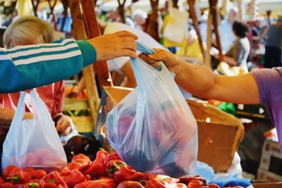 Plastic bag tax fee