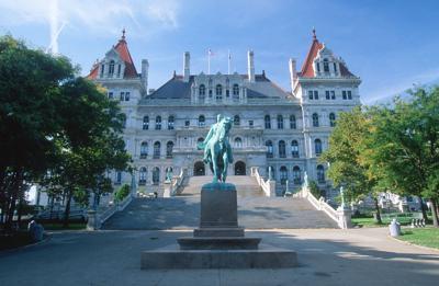 FILE - New York Capitol