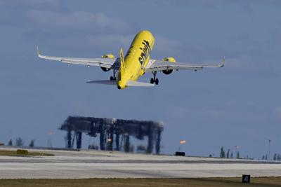 FILE - Spirit Airlines
