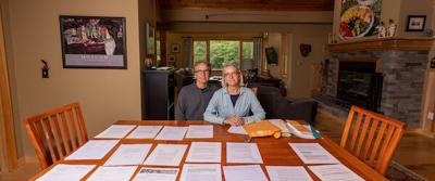 David and Peg Schroeder are lifelong residents of Wilmington, North Carolina