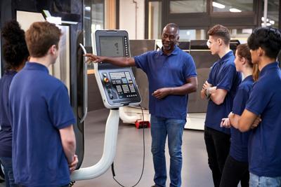 teen apprentices stock
