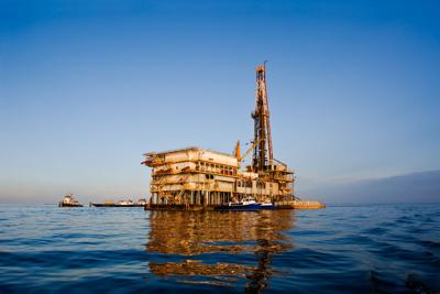 FILE - Texas oil rig