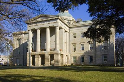 FILE - North Carolina Capitol building