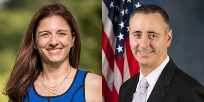 FILE - PA Christina Finello, Brian Fitzpatrick