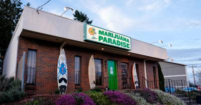 FILE - recreational marijuana, cannabis, dispensary