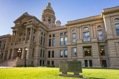 FILE - Wyoming State Capitol