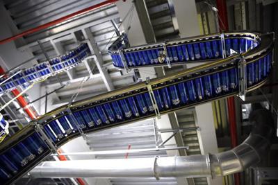 FILE - Aluminum Bottle Plant, Missouri, manufacturing