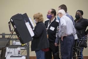 Polls close in Georgia U.S. Senate runoff elections