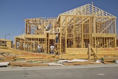 FILE - New home construction
