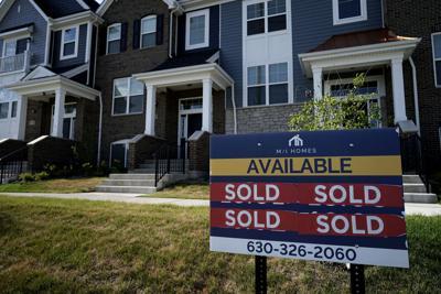 FILE - Home Sales Illinois, 2021