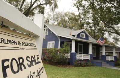 FILE - Florida home sales
