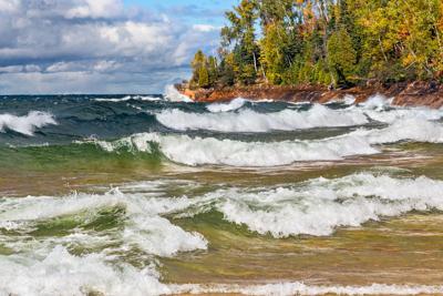 FILE - Great Lakes Lake Superior