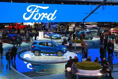 FILE - Detroit automaker auto show