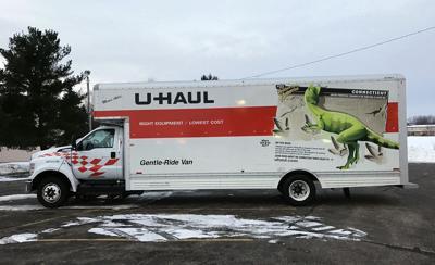 FILE - Moving truck, U-Haul