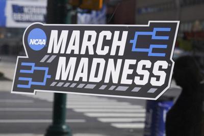 FILE - 2021 NCAA Tournament