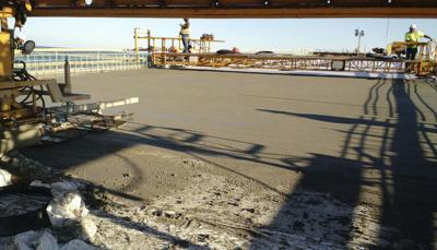 Outer Banks Bridge construction
