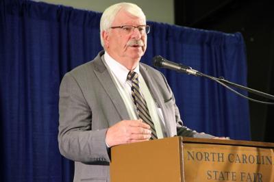 North Carolina Agriculture Commissioner Steve Troxler