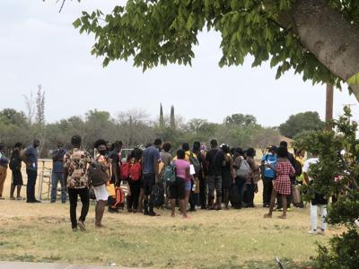 Val Verde Border Humanitarian Coalition, Del Rio, Texas, September 21, 2021