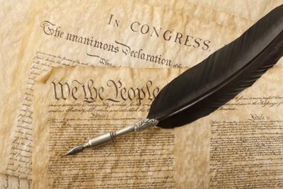 FILE - U.S. Constitution