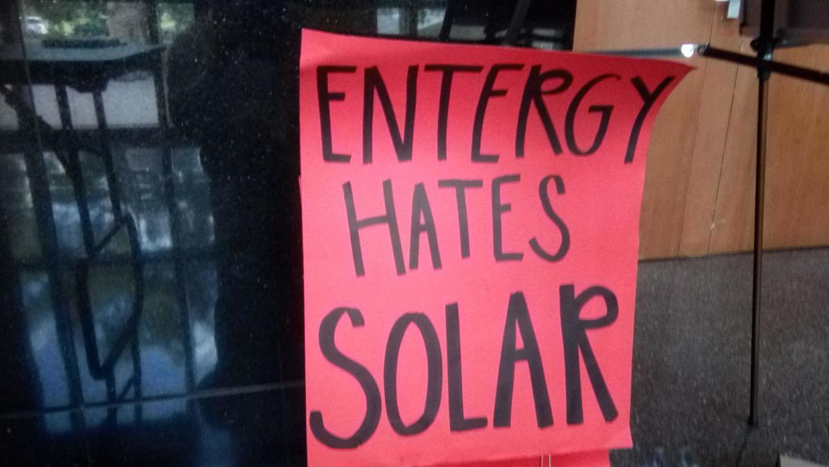 """Entergy hates solar"""