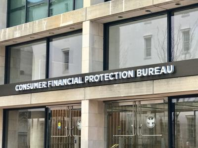 FILE - Consumer Financial Protection Bureau CFPB