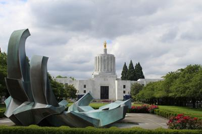 FILE - Oregon Capitol Building