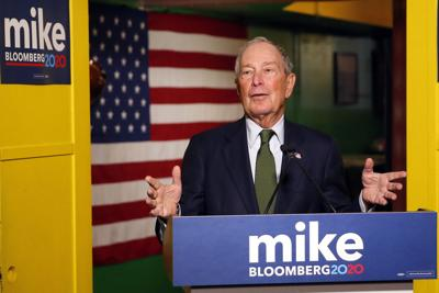 FILE - Michael Bloomberg