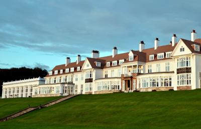 FILE - Turnberry, Scotland