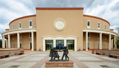 FILE - New Mexico State Capitol