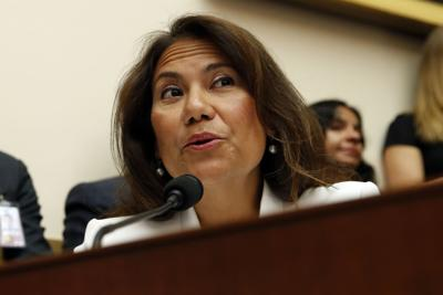 FILE - U.S. Rep. Veronica Escobar