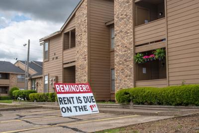 FILE - Louisiana apartment