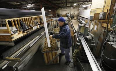 FILE - Iowa manufacturing