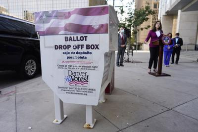 FILE - Election 2020 Colorado
