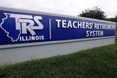 FILE- Illinois Budget Pensions, Teachers Retirement System, Illinois