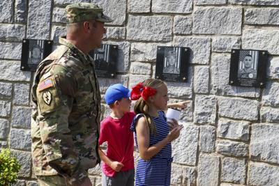 FILE - Military in Georgia