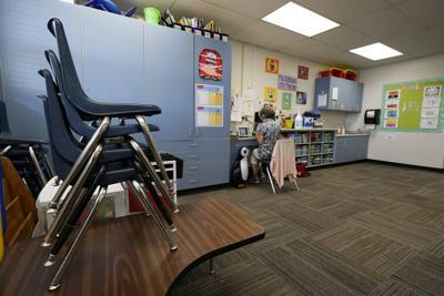 File - Arizona school classroom
