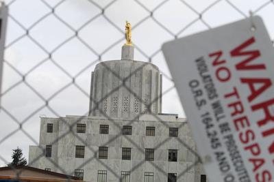 FILE — Oregon state capitol building