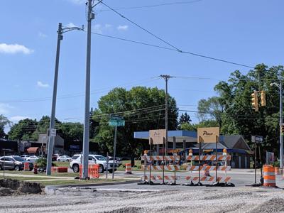 FILE - Michigan road construction