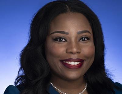 FILE - Tennessee state Sen. Katrina Robinson