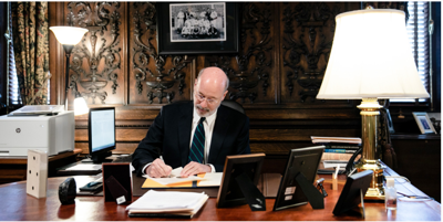Gov. Tom Wolf signs disaster declaration for COVID-19