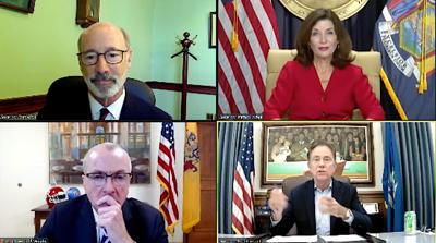 FILE - NE governors 10-7-2021