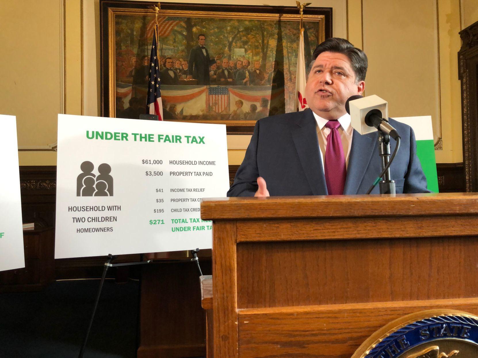 Op-Ed: 'Fair tax' cannot drain enough money to fix Illinois' spending problem