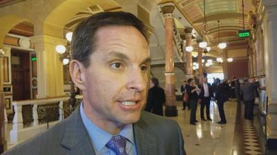 FILE - Illinois Retail Merchants Association President Rob Karr